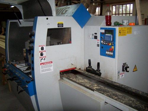Four Side Planer, 5-Spindle Moulder WEINIG UNIMAT 500 CLASSIC - SOLD
