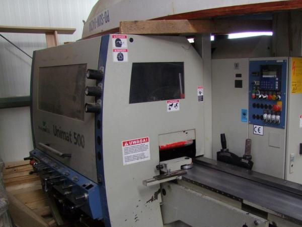 Four Side Planer, 5 Spindle Moulder WEINIG UNIMAT 500 PROFI - SOLD