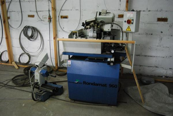 Profile And Straight Knife Grinder WEINIG RONDAMAT 960 + OPTICONTROL - SOLD