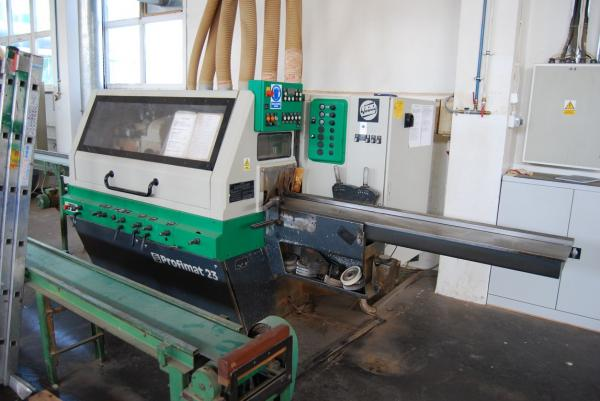 Four Side Planer, 5-Spindle Moulder WEINIG PROFIMAT 23 - SOLD