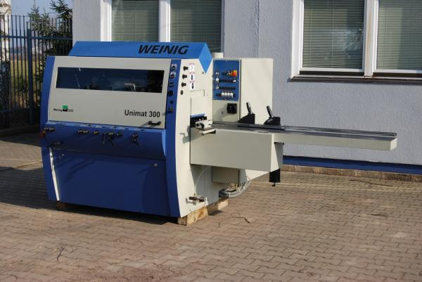 Four Side Planer, 5-Spindle Moulder WEINIG UNIMAT 300 - SOLD