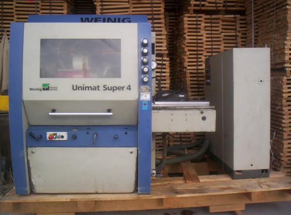 Four Side Planer, Moulder WEINIG UNIMAT SUPER 4 - SOLD