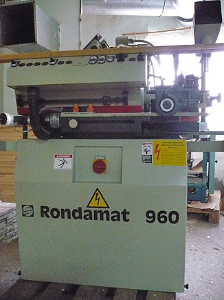 Profile And Straight Knife Grinder WEINIG RONDAMAT 960 - SOLD