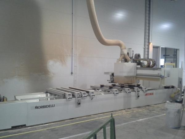 CNC Working Center SCM MORBIDELLI PLANET MX1 with Edgebanding - SOLD