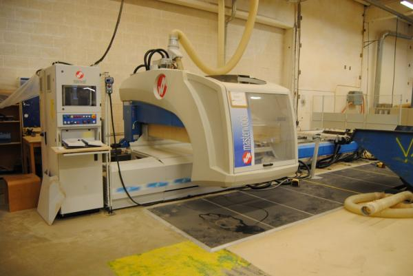 CNC Working Center MASTERWOOD PROJECT 500 L - SOLD