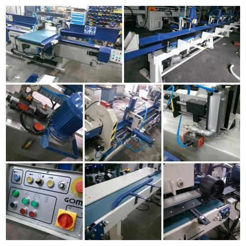 Finger Jointing Line GOMA + DIMTER - SOLD