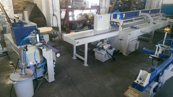 Finger Jointing Line GRECON / DIMTER SUPRA E - SOLD