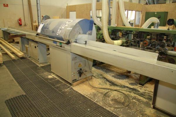 Optimizing Saw, Push Feed Crosscut Saw WEINIG DIMTER OptiCut S 50 - SOLD