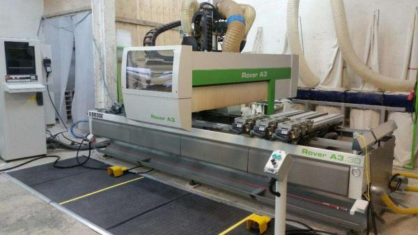 CNC Machining Center BIESSE ROVER A3.30 K4 - SOLD