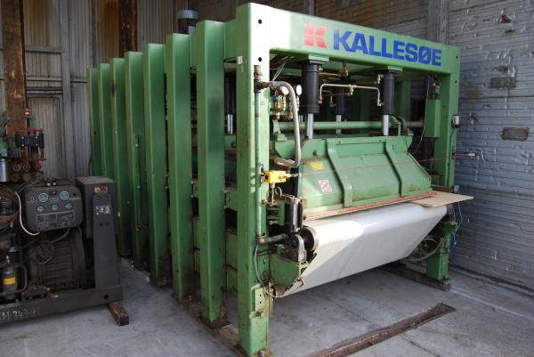 Automatic Feed Through Press KALLESOE LV4014 + KL20 - SOLD