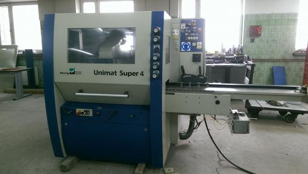Four Side Planer, Moulder WEINIG UNIMAT SUPER 4 - 2005 - SOLD