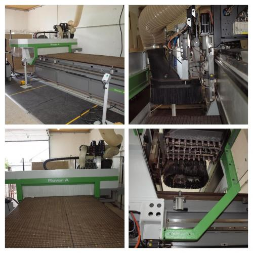 CNC Machining Centre for Nesting BIESSE ROVER A15.36 G FT - SOLD