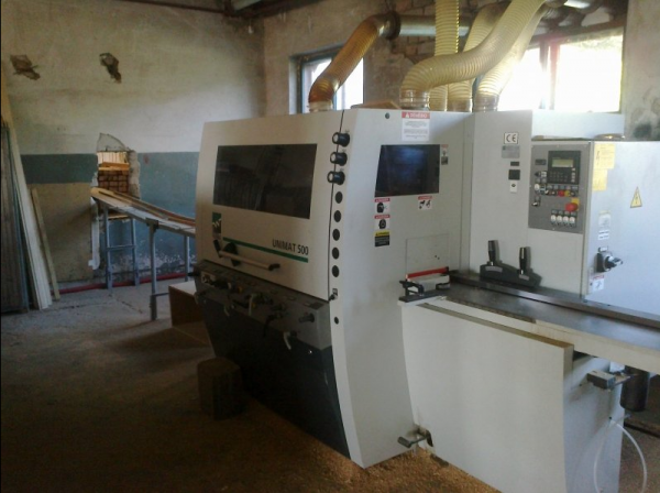 Four Side Planer, 5-Spindle Moulder WEINIG UNIMAT 500 - 2011 - SOLD