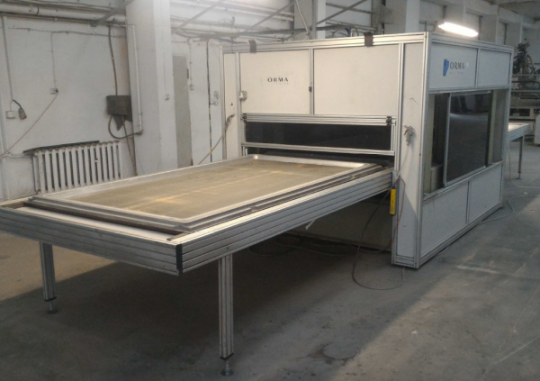 ORMA Membrane Press PM AIR SYSTEM 25/14 - SOLD