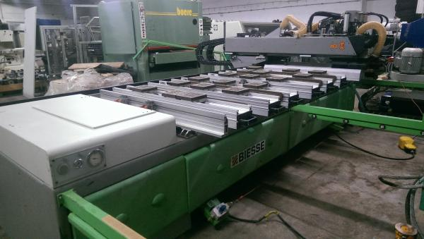 CNC Machining Center, CNC Router BIESSE ROVER 322 - SOLD
