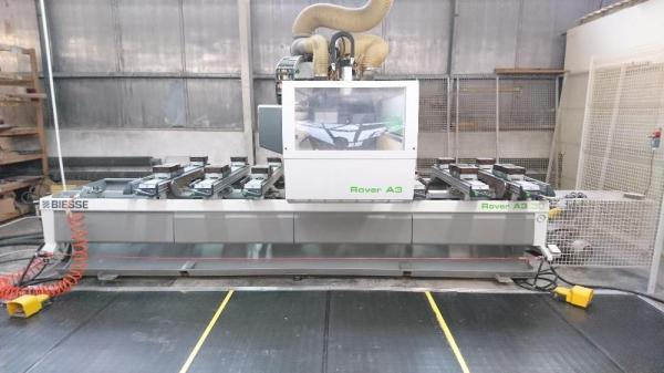 CNC Machining Center, Router BIESSE ROVER A 3.30 - SOLD