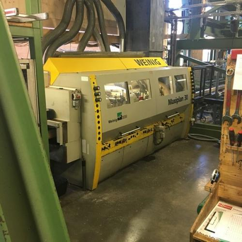 Four Side Planer, 6-Spindle Moulder WEINIG MAXIPLAN 30 / UNIMAT 30EL - SOLD