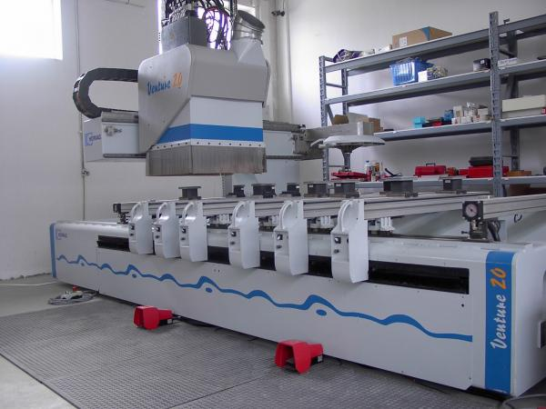 CNC Machine Center HOMAG BAZ 211 VENTURE 20 with Edgebanding - SOLD