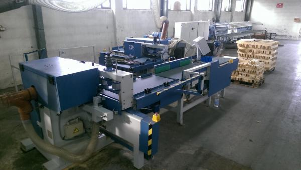 Finger Jointing Line GOMA 2FC-10KZ6 + FC-10 PZ6/2