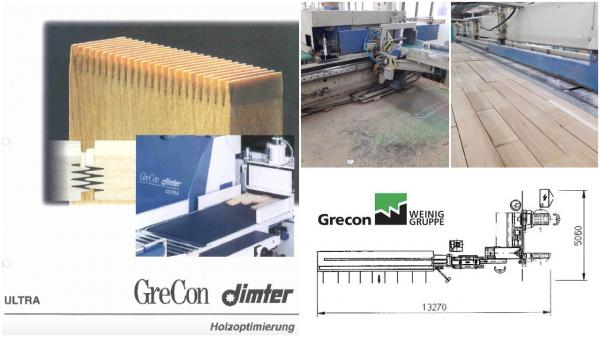 Finger Jointing Line GreCon Dimter (WEINIG Group) ULTRA 3
