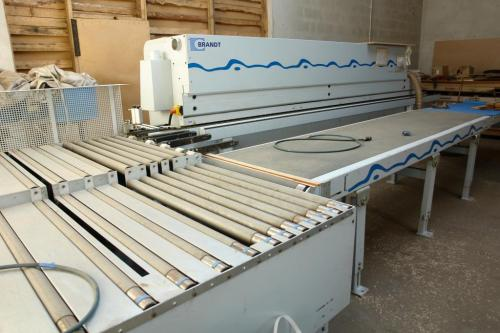Edgebander BRANDT OPTIMAT KDF 550 C with LIGMATECH - SOLD