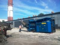 Slow Speed Shredder, Crusher; Mobile Shredding Plant HUSMANN HL I 1222 - SOLD