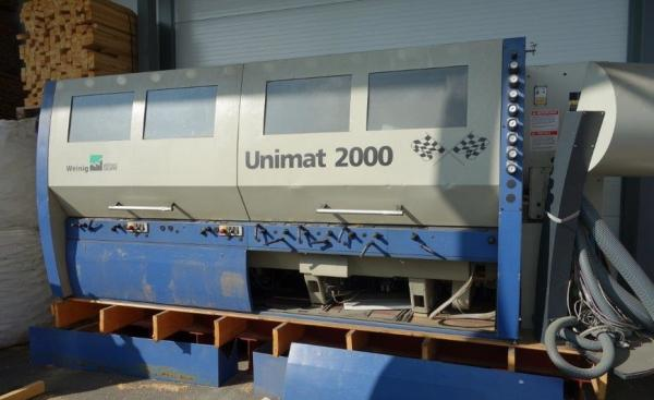 Four Side Planer, 7-Spindle Moulder WEINIG UNIMAT 2000 - SOLD