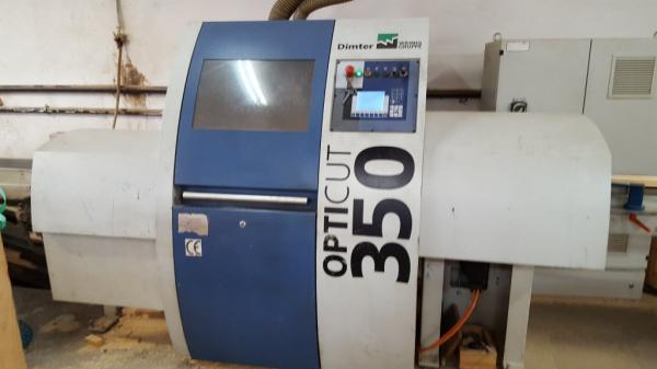 Optimizing Saw DIMTER OptiCut 350-4 with Automatic Infeed System - SOLD