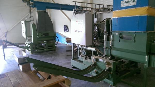 Briquetting Press, Briquette Press RUF RB 440 - SOLD