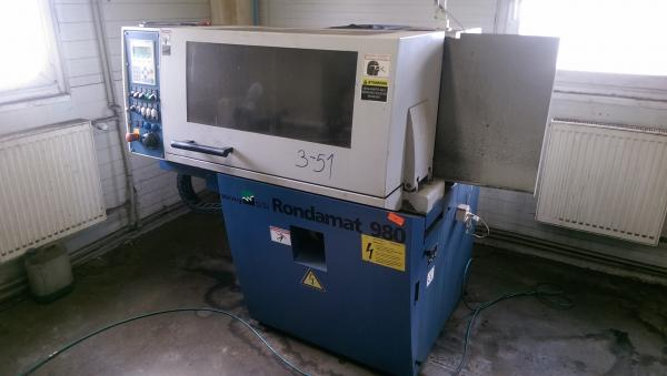 Fully Automatic Tool Grinder, Sharpening Machine WEINIG RONDAMAT 980 - SOLD