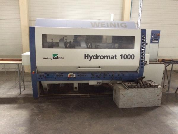 Four Side Planer, 6-Spindle Moulder WEINIG HYDROMAT 1000 - 2007