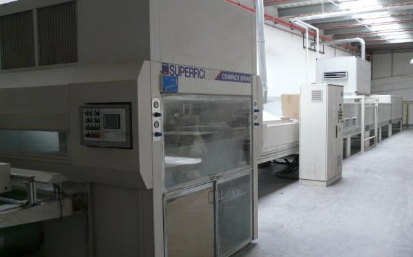 Lacquering Line ELMAG SUPERFICI Compact Spray - SOLD