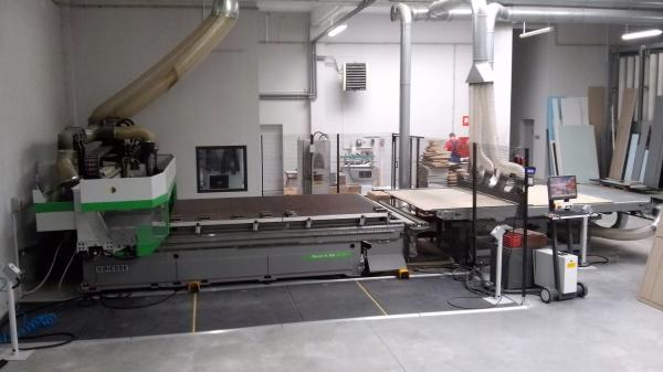CNC Machining Center BIESSE ROVER A 2231 G FT with Automatic Unloading