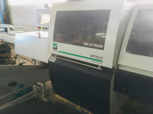 Automatic Cross-Cut Saw, Optimizing Saw DIMTER Opticut 200 Extreme