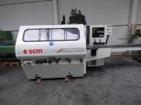 Four Side Planer, 5-Spindle Moulder SCM SUPERSET XL 260x180mm!