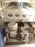 Used Automatic Feed Through Press WEINIG DIMTER PROFIPRESS 4500, Plattenverleimpresse