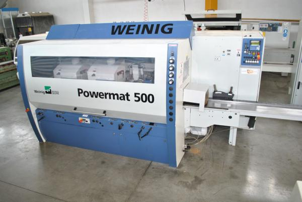 Four Side Planer, 6-Spindle Moulder WEINIG POWERMAT 500 - SOLD
