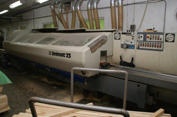 Four Side Planer, 10-Spindle Moulder WEINIG UNIMAT 23 - SOLD