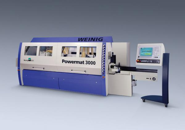 Four Side Planer, 8-Spindle Moulder WEINIG POWERMAT 3000 (Fully Automatic) - SOLD