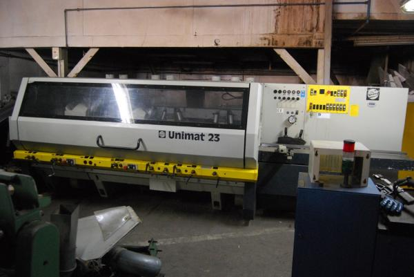 Four Side Planer, 6-Spindle Moulder WEINIG UNIMAT 23 (YELLOW LINE) - SOLD