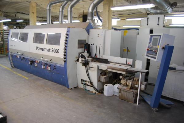 Four Side Planer  9-Spindle Moulder WEINIG POWERMAT 2000 - SOLD
