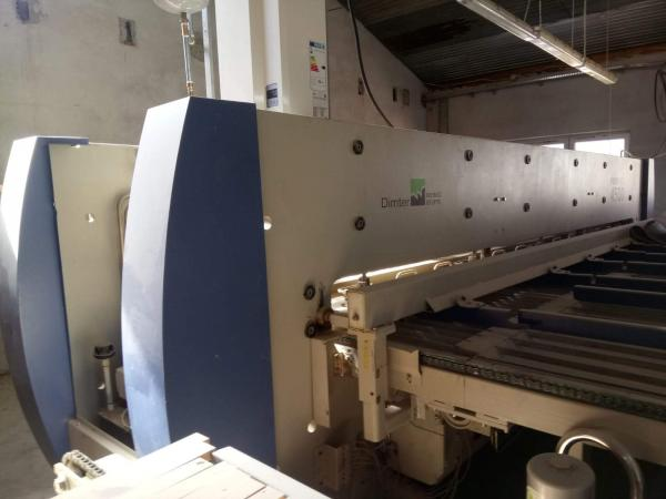 Automatic Feed Through Press WEINIG DIMTER PROFIPRESS 4500 - SOLD