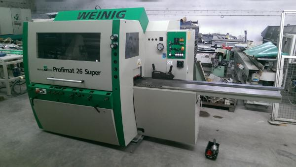 Sold Machines - Sold Machines - Four Side Planer, 5-Spindle